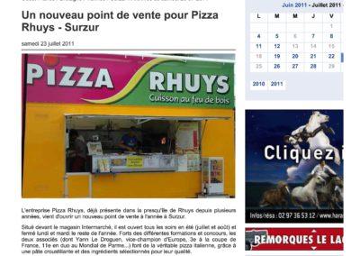 Ouest France – Juillet 2011